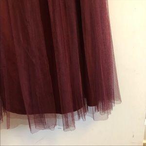 BHLDN Skirts - Anthropologie BHLDN tulle skirt and top